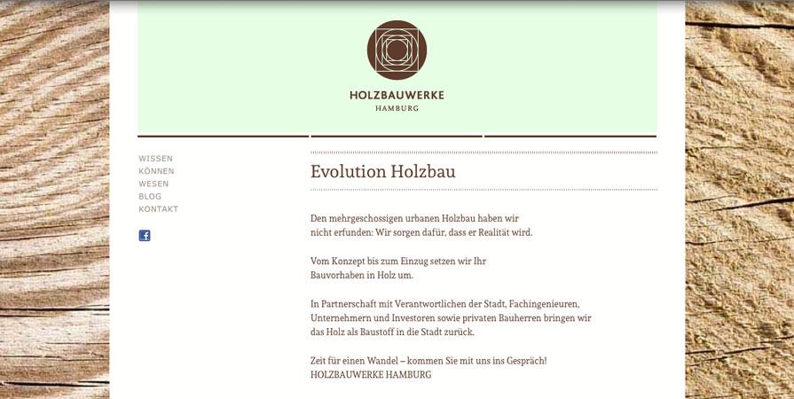 Holzbauwerke Hamburg - Screenshot #01