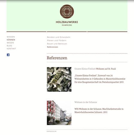 Holzbauwerke Hamburg - Screenshot #04